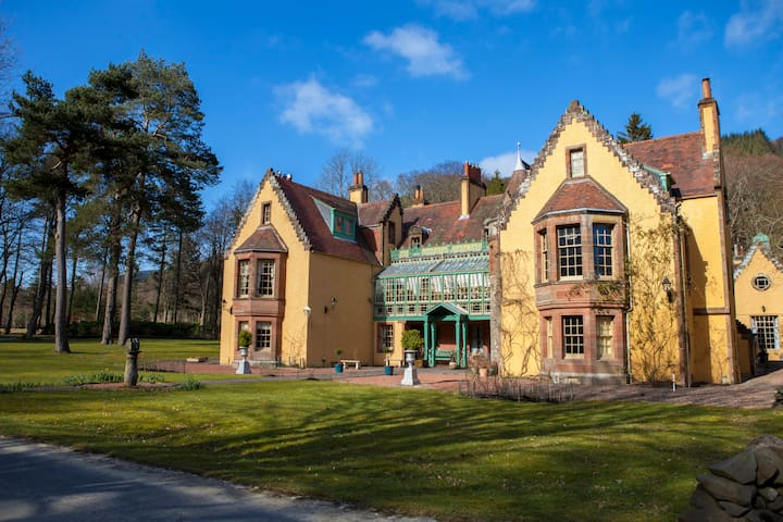 Woolhope bank, Leithen Lodge - Scottish Borders - Byt