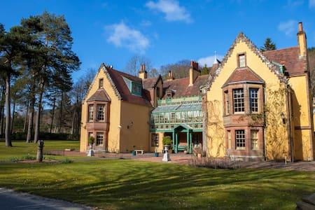Woolhope bank, Leithen Lodge - Scottish Borders