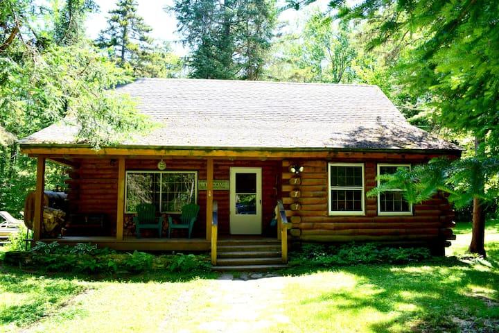 Stowe  Log Cabin