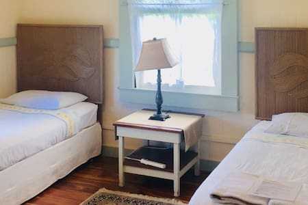 Open to Women & Family /Twin Beds (Room#1)