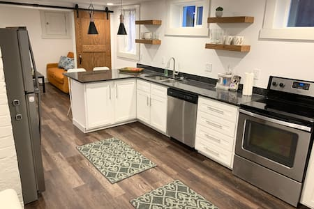 Clean Modern Downtown Apartment- All New Rear Unit