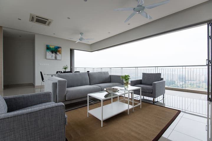 Luxurious 4BR4Bth with Amazing View - Kuala Lumpur - Apartemen