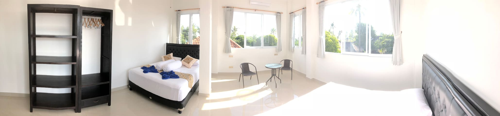 Room Sunrise, Superior bedroom (2+2),
