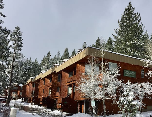Christy Hill 2 br/2 ba view condo - Olympic Valley - Daire