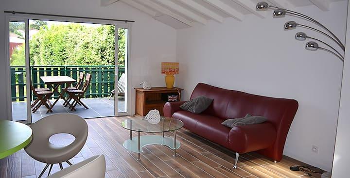 charmant appartement de 90 m2 entre deux villages