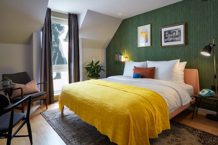 Perfect Room for 2 in the Creative Heart of Vienna