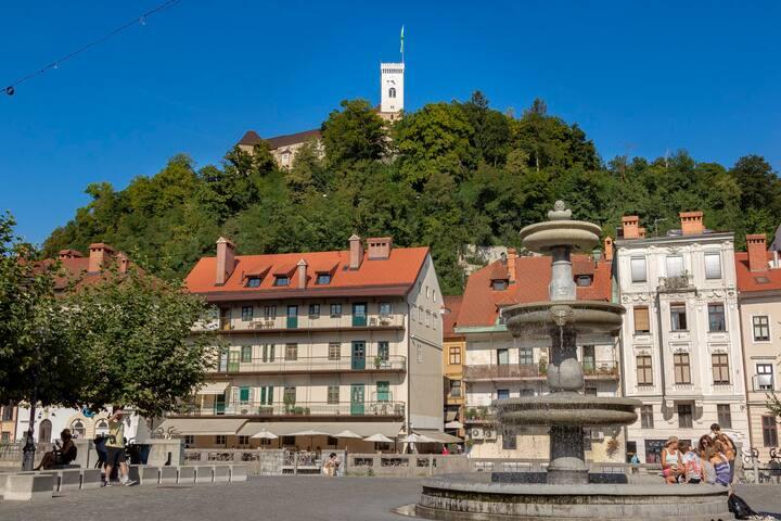 Take a walk to Ljubljana castle