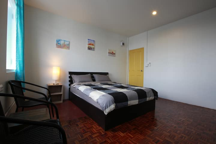 Zee Thai Hostel Khaosan:Private Room Double bed 17