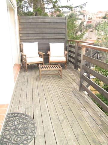 maisonnette  climatisée terrasse - Port-Vendres - House