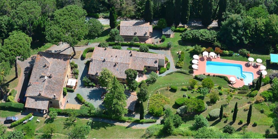 Il Lebbio farmhouse Pomarium - Alberi - Wohnung