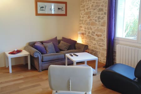 House close to Sommières with garden in the quiet