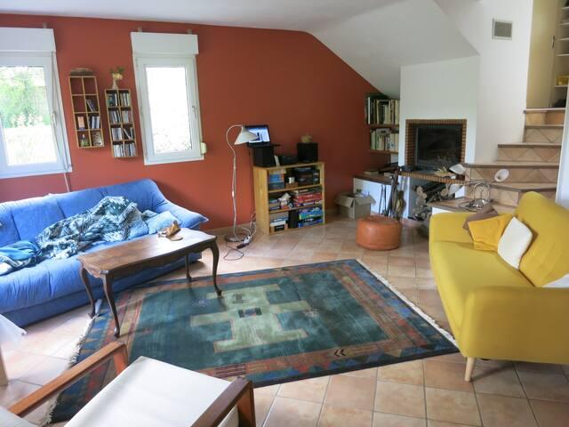 Maison calme à dix minutes de Soissons