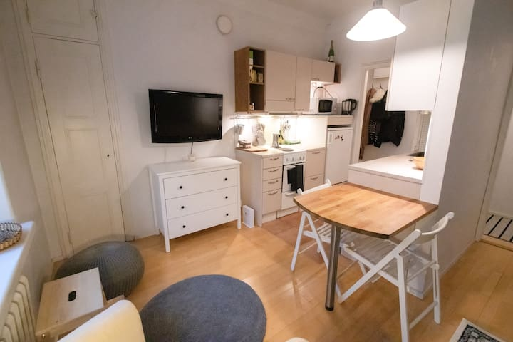 Cosy studio in the heart of Helsinki