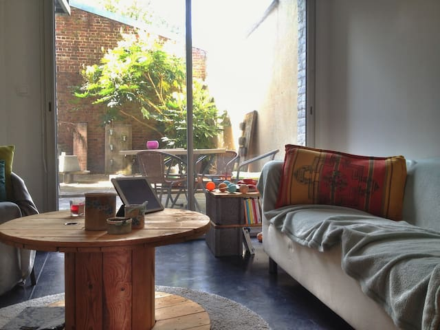 1 bedroom flat with inner courtyard - Lille - Byt