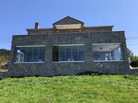Trabzon Haçkalı Baba Yaylasında Kiralık Villa