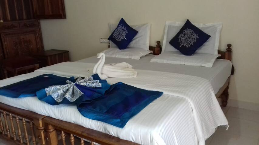 Ocean View Room 201 at Lighthouse Beach Kovalam