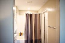 Wide Luxury Bathtub