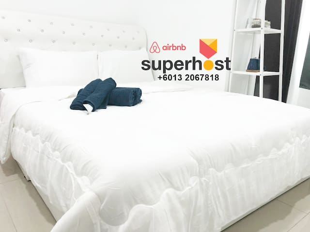 Superb KLIA Room transit-FREE airport Pick Up