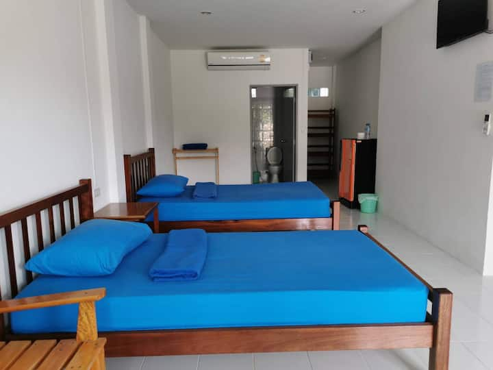 Subsavet VillageTwin Bed Pool view Room