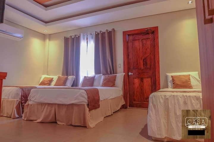 Casa Domingo: Room for 5-6 w/Terrace Near Airport
