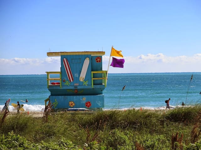 Steps from the Beach and the famous Faena District