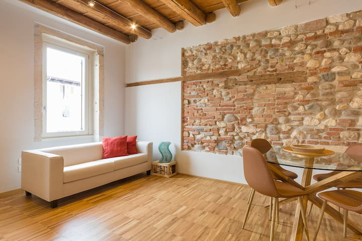 Red Bricks - Contemporary ancient flat