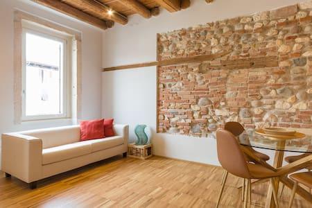 Red Bricks - Contemporary ancient flat