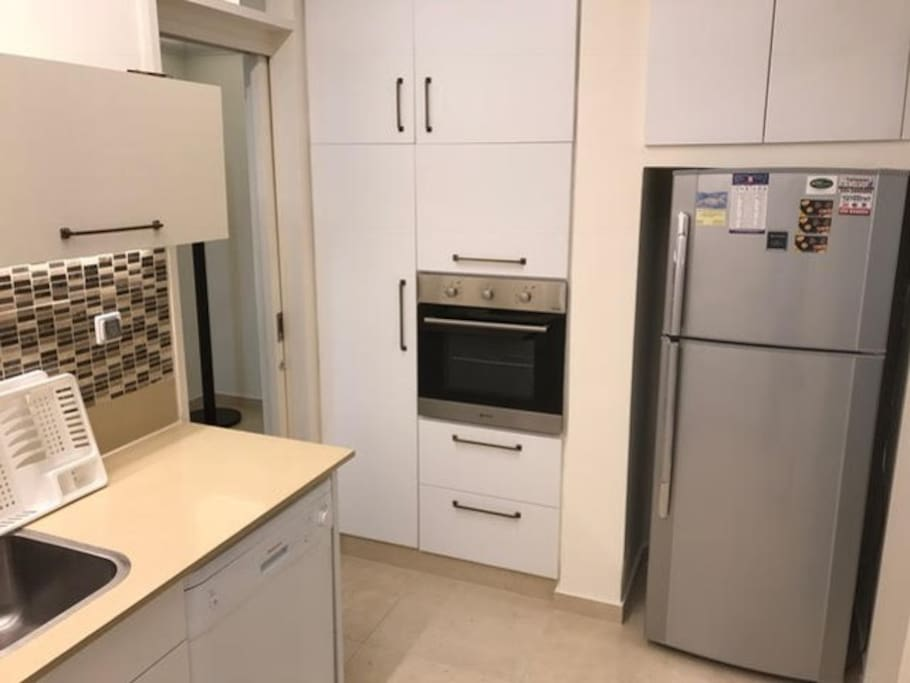 Fully equipped kosher kitchen