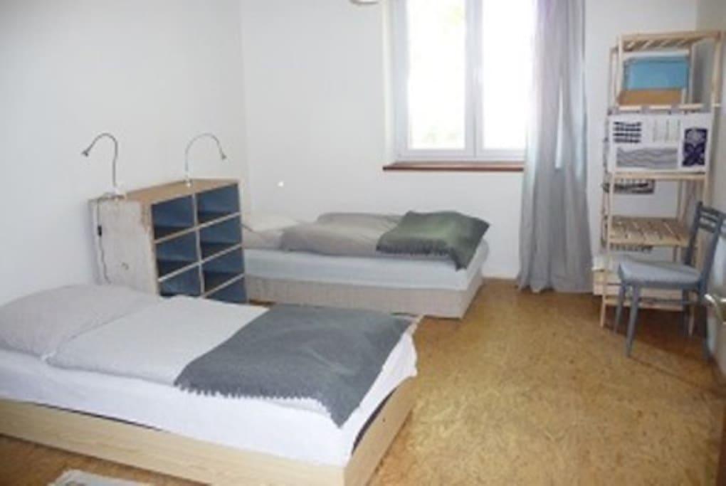 Second bedroom / druhá ložnice