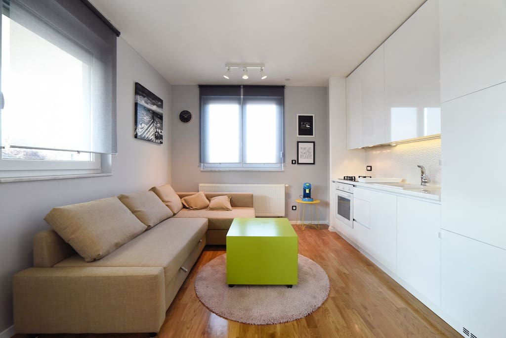 Dnevni boravak-kuhinja | Living room - kitchen