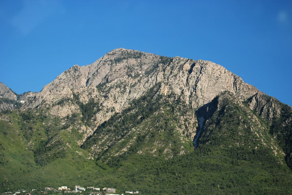 The beautiful Mount Olympus
