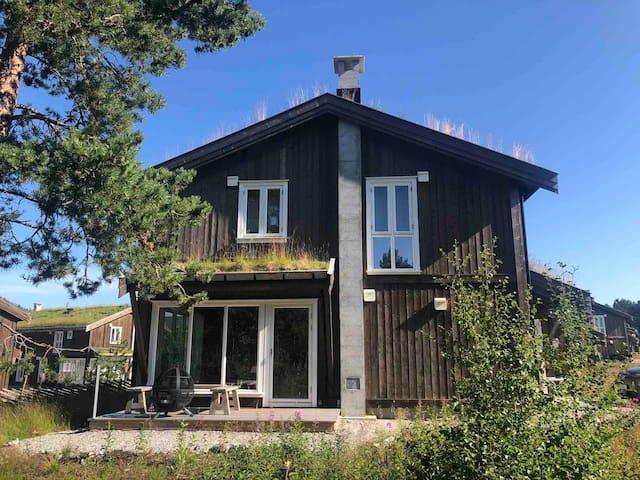 Super hytte 6/7 spl.2 bad Høy standard. Sentralt.