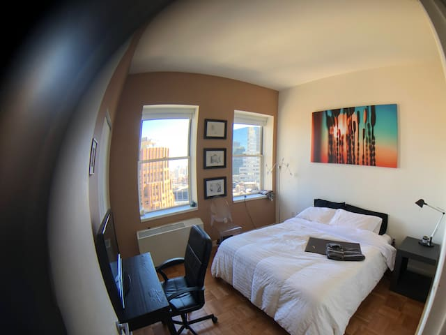 Breathtaking view 30th floor Bedroom in FIDI