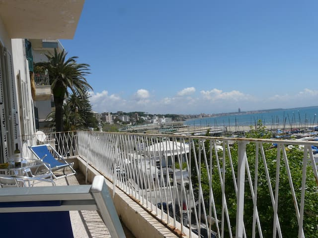 Large and Sunny Seafront Apartment