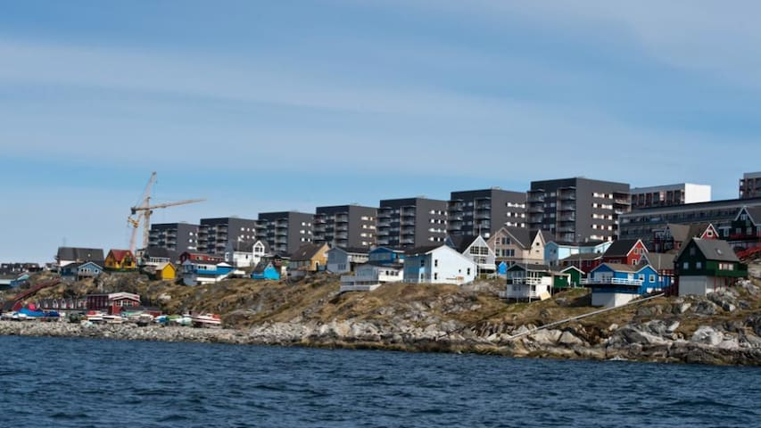 Central and cozy room in Nuuk - Nuuk - Huoneisto
