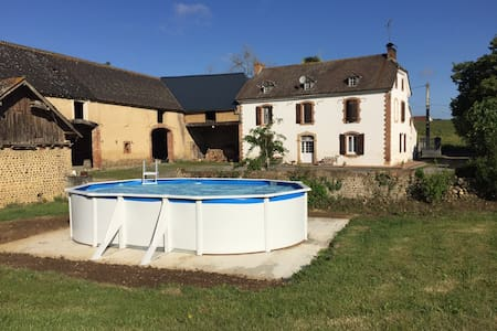 MAISON DE CAMPAGNE AVEC PISCINE - Dům