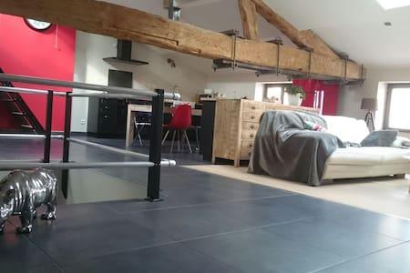 Chambres dans loft!2 min de la gare - Villefranche-sur-Saône - Lejlighed