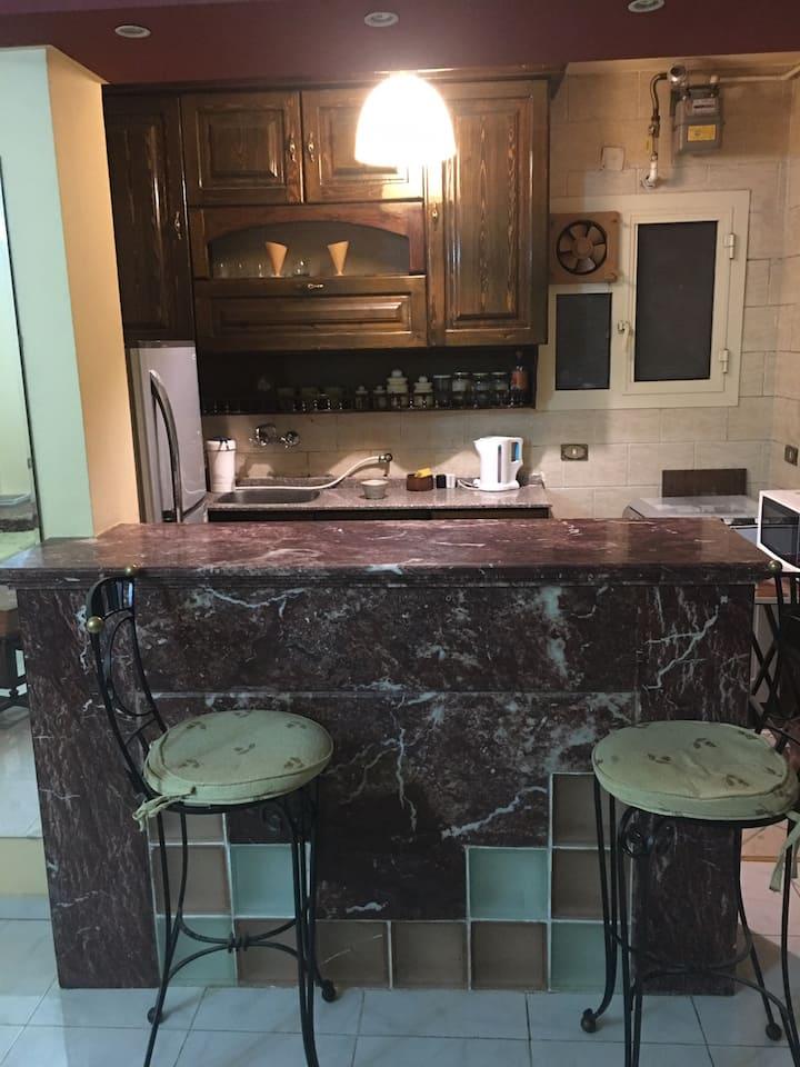 Excellent apartment for 4 guest