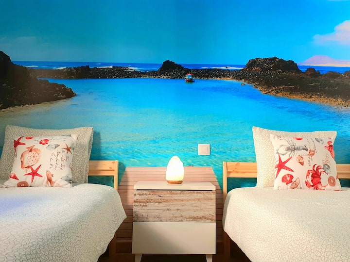 Great central apartment to discover the island
