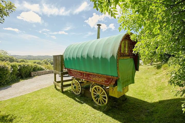Lake District Glamping, Traditional Gypsy Caravan