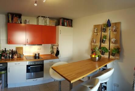 Schönes Zimmer in vollausgestatteter Wohnung - Эрланген - Кондоминиум