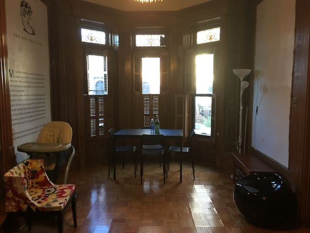 Grand Suite in Historic Brownstone