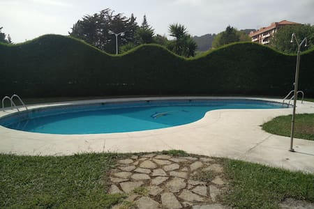 Flat by the beach with swimming pool - Castro Urdiales - Wohnung