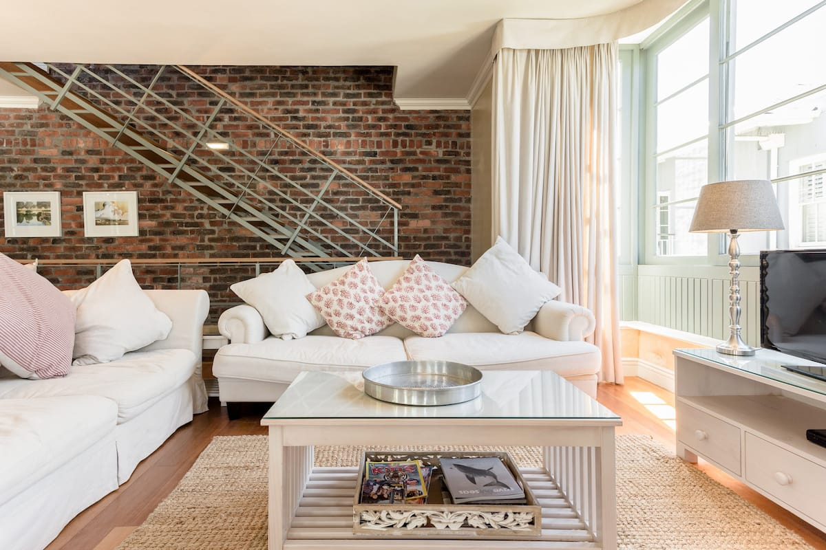 Bask in the Beauty of Kalk Bay from a Chateauesque Townhouse