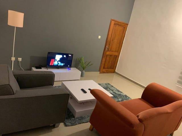 Appartement 2 pièces fidjrossè