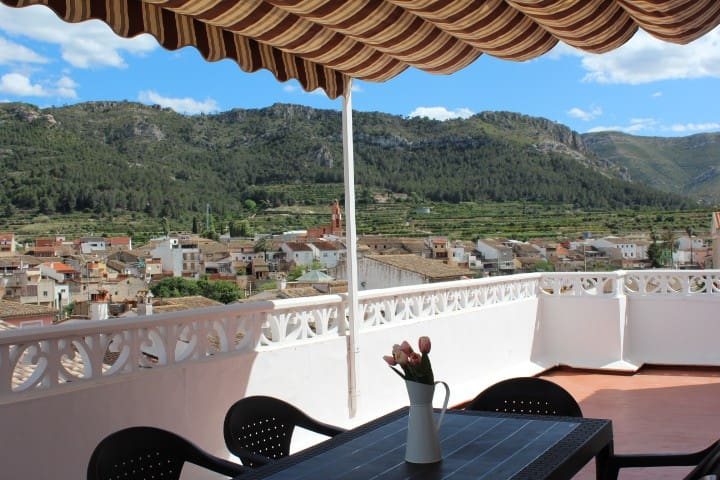 Villa penthouse with beautiful views - Almiserà - Willa