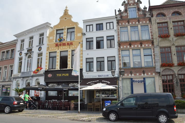 Beautiful apartment in the centre of Oudenaarde