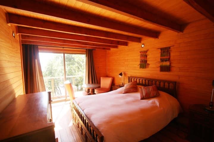 Cabaña 2 habitaciones en Lago Colbún