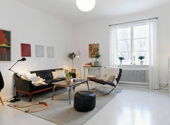 Bel appartement de deux chambres