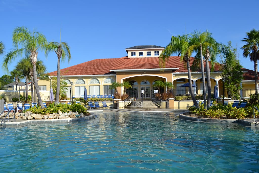 luxury 3br villa near disney private spa freewifi. Black Bedroom Furniture Sets. Home Design Ideas